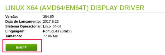 Como atualizar o driver da NVIDIA no Linux
