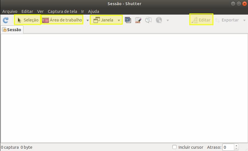 Como instalar e utilizar o Shutter no Linux