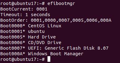 Como remover entradas de boot UEFI obsoletas no Linux