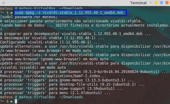 Como instalar e utilizar o navegador Vivaldi