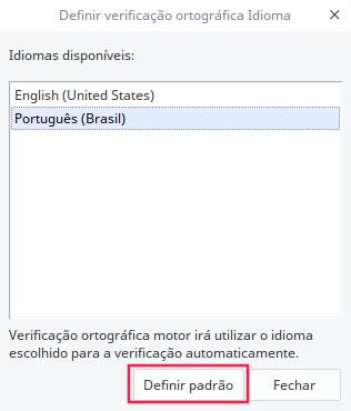 Alterar idioma e corretor ortográfico do WPS Office para pt-BR