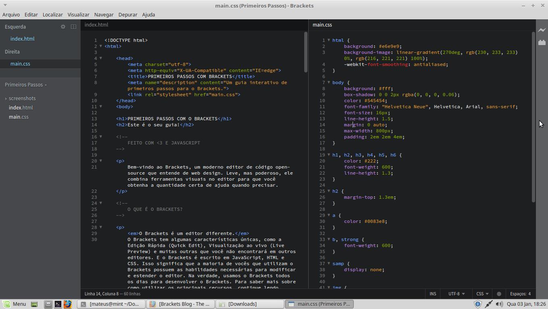 Veja porque o Brackets é um dos melhores softwares para desenvolvimento web