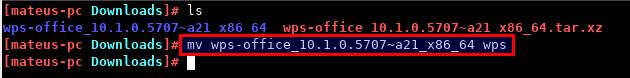 Como instalar o WPS Office no Manjaro