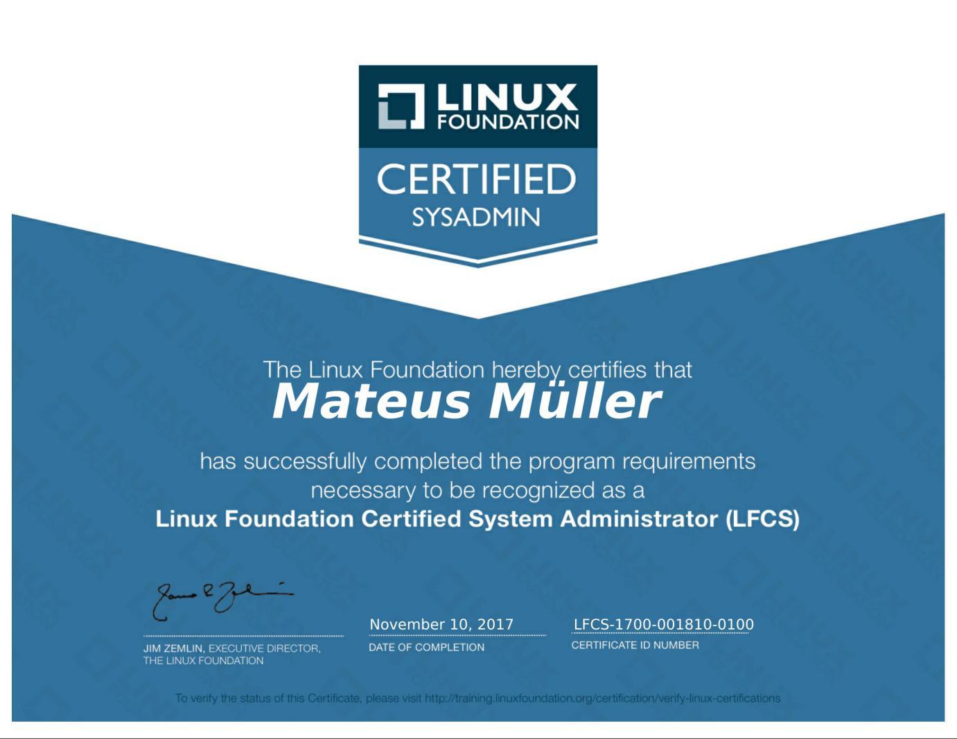 Conheça as certificações LFCS e LFCE