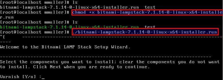 Como instalar e configurar o servidor Bitnami LAMP no CentOS 7