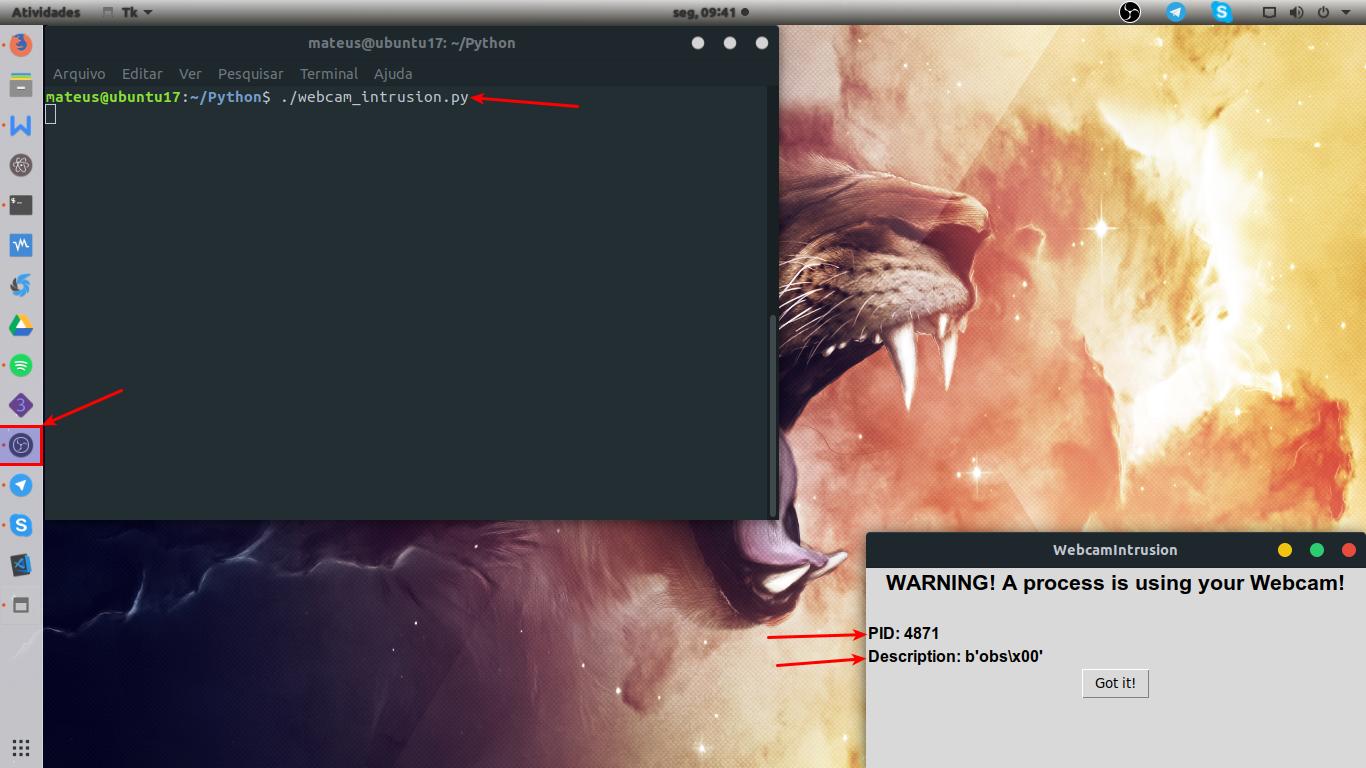 Meu primeiro script em Python!