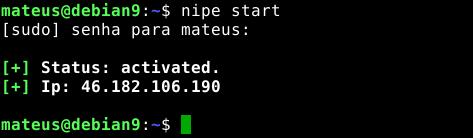 Navegar em anonimato total com o script Nipe