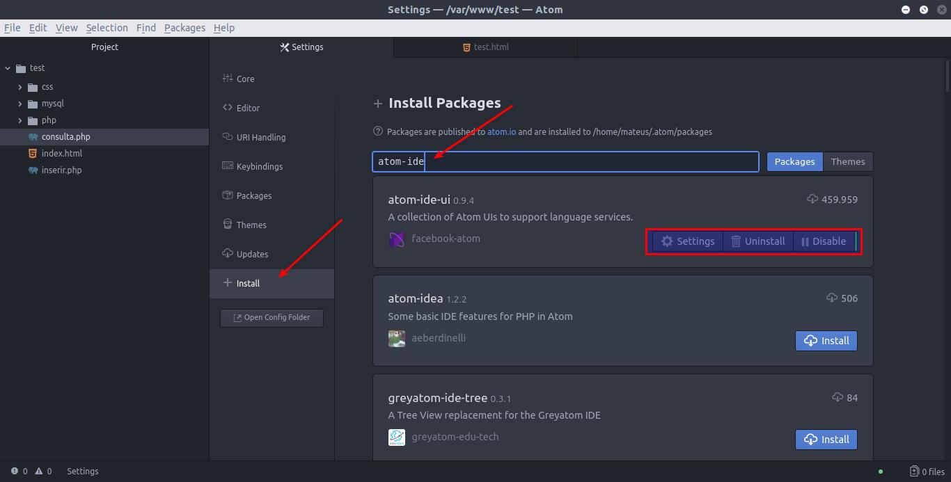 Atom, a ferramenta de desenvolvimento feita pela equipe do GitHub