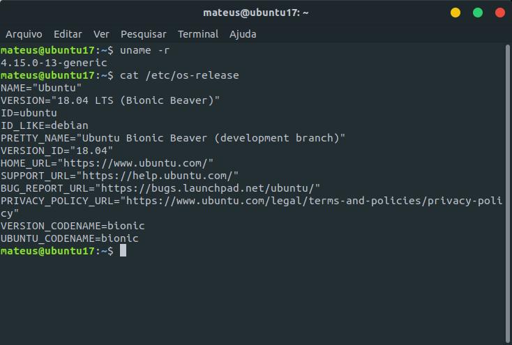 Como fazer upgrade do Ubuntu 17.10 para o Ubuntu 18.04