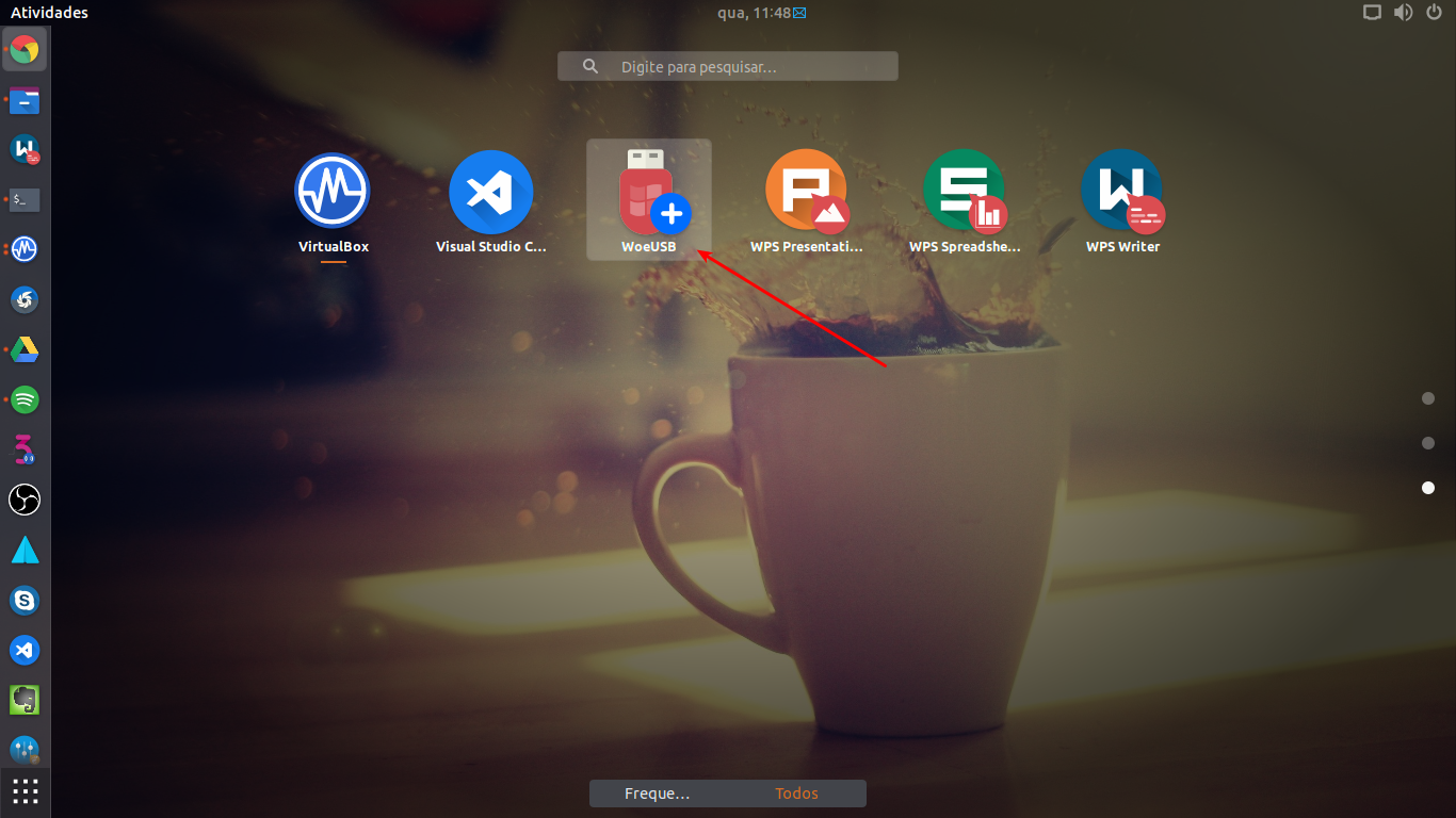 Criando pendrive bootável do WINDOWS pelo LINUX da forma mais fácil
