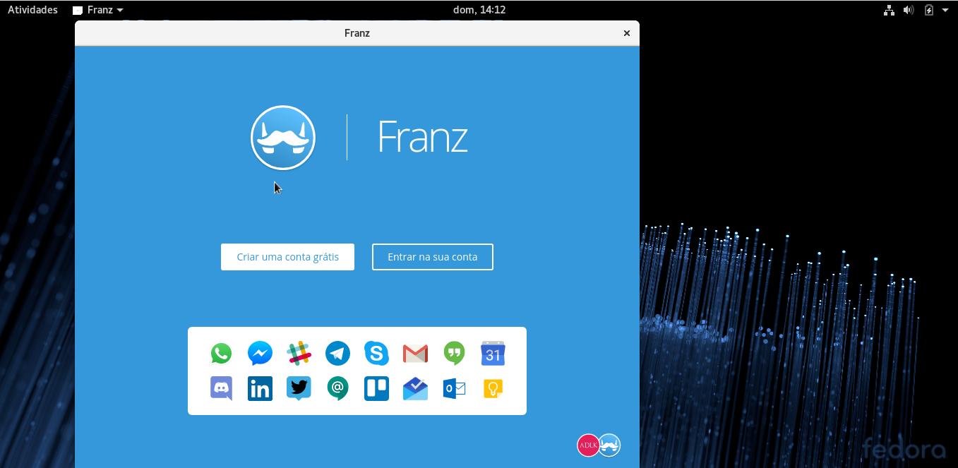 Unifique seus aplicativos de contato com o Franz