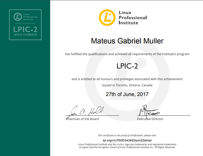 Conheça todo o caminho de certificações LPI