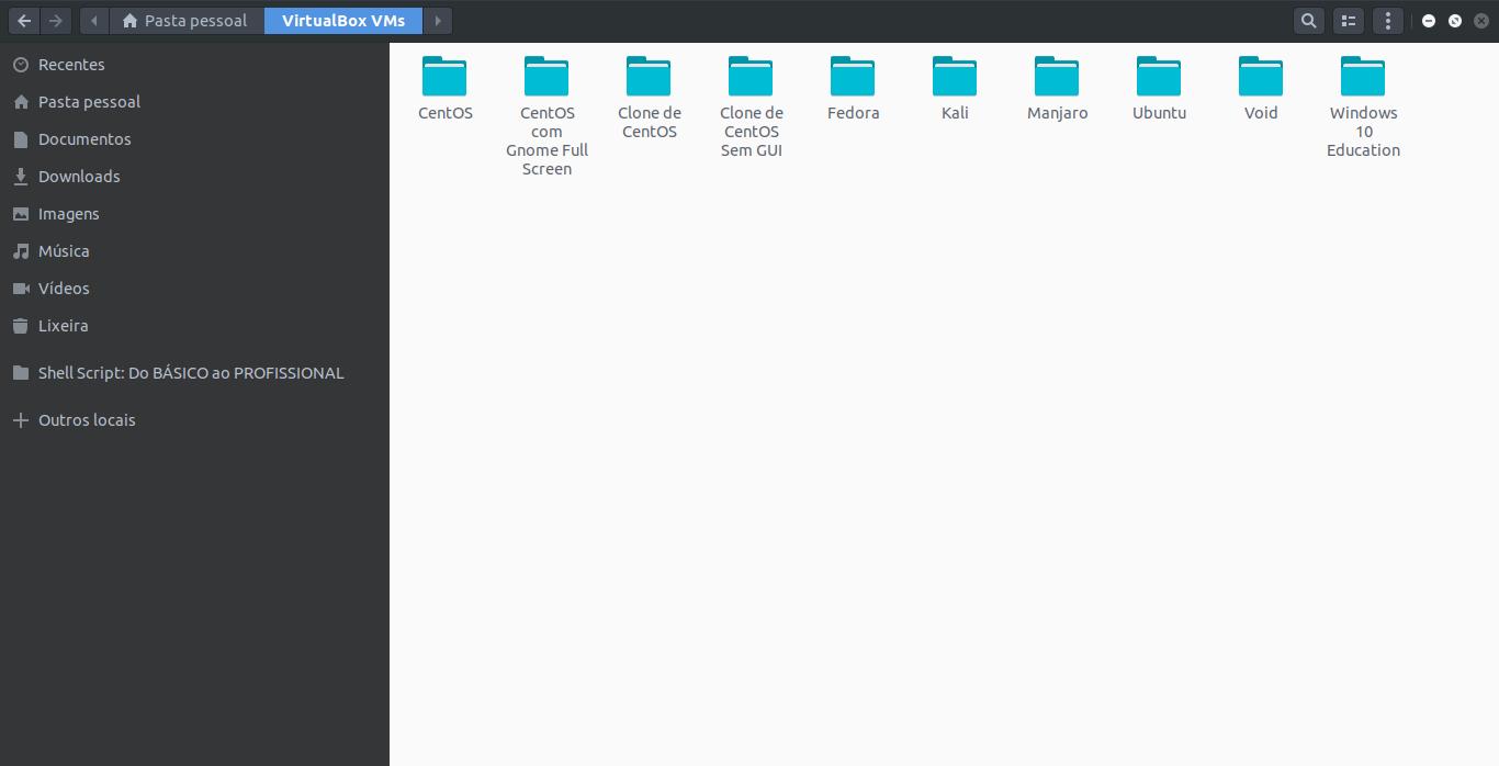 Como fazer o backup das suas máquinas virtuais do Virtual Box no Linux