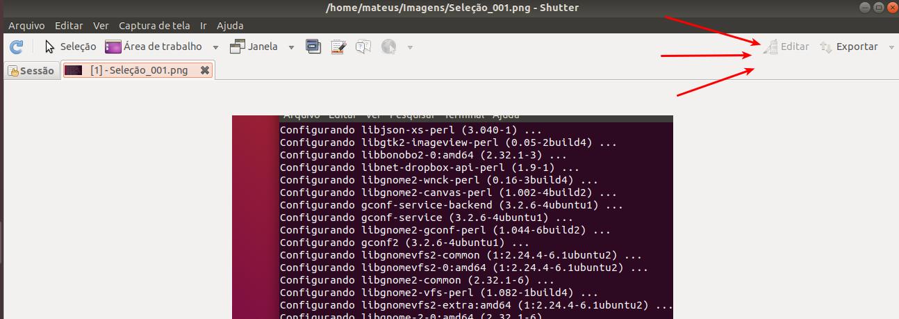 [SOLUCIONADO] Não é possível editar fotos com Shutter no Ubuntu 18.04
